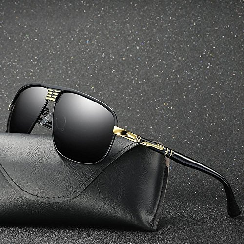 lunettes soleil de de sport de cheval magnésium entreprises pêche style d'aluminium polarisé soleil de conduite de plein Lunettes haixin air lunettes de lunettes homme soleil Gold Petites P5qYZw