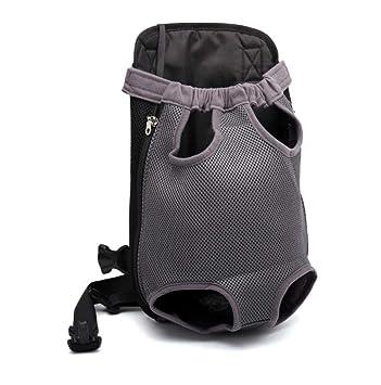 Paquete Mochila para Mascotas Bolsa para Llevar Bolsa De Hombro para Perro Bolsa De Pecho para Mascota Bolsa De Viaje para Mascota Mochila De Pecho: ...