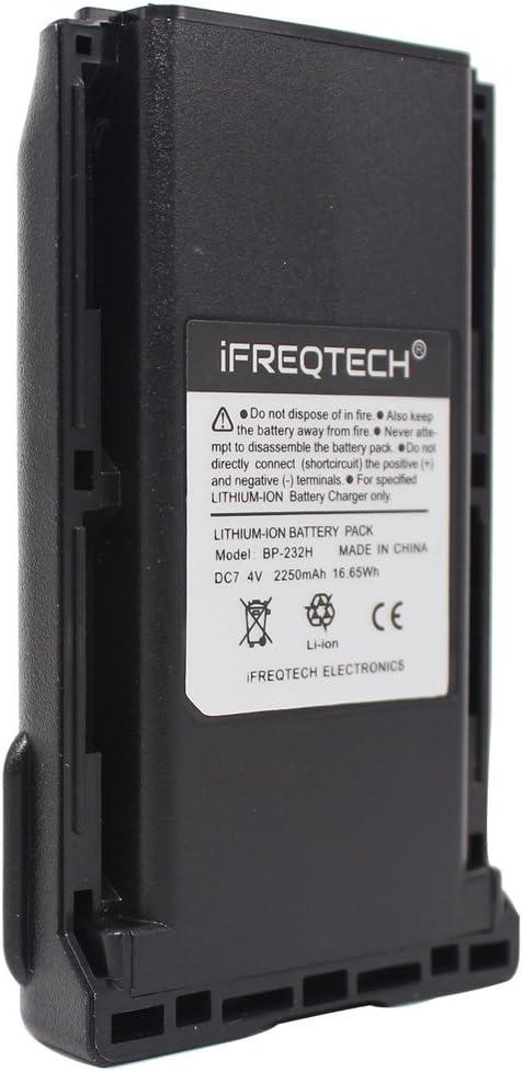 Battery Icom F14S F24S F33GT F43TR F4011 F3011 F3021S F4021S F3161 F4161 BP232H