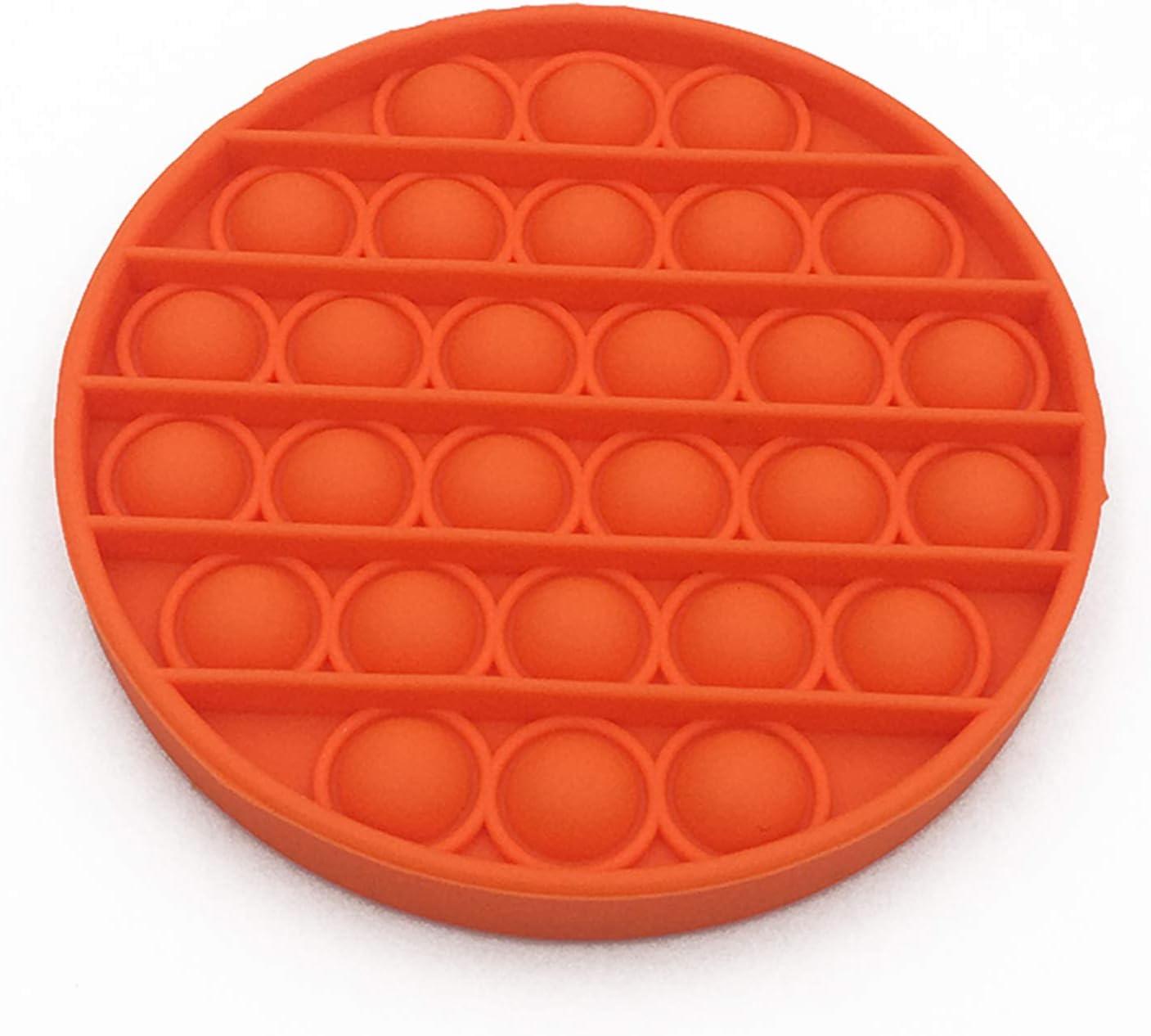 NEW Push Pop Bubble Sensory Fidget Toy Autism Stress Relief Silent Classroom