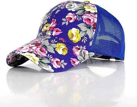 SYQY Mujeres Mariposas Flor Bordado Gorras Mujer niña Sombreros ...