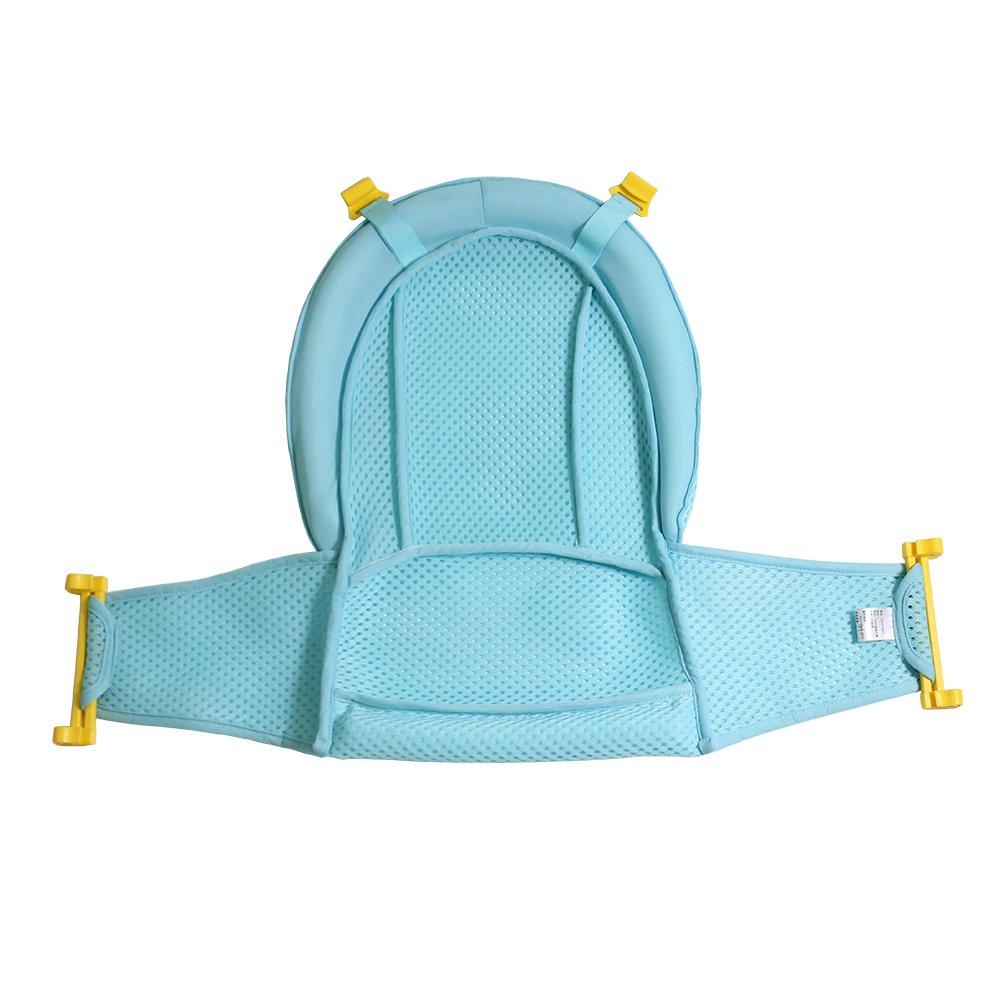 Amazon.com : Autbye Baby Bath Support Seat, Newborn Shower Mesh for Bathtub, 2018 New Style Adjustable Comfortable Non-Slip Bath Seat for Infant 0-3 Years ...
