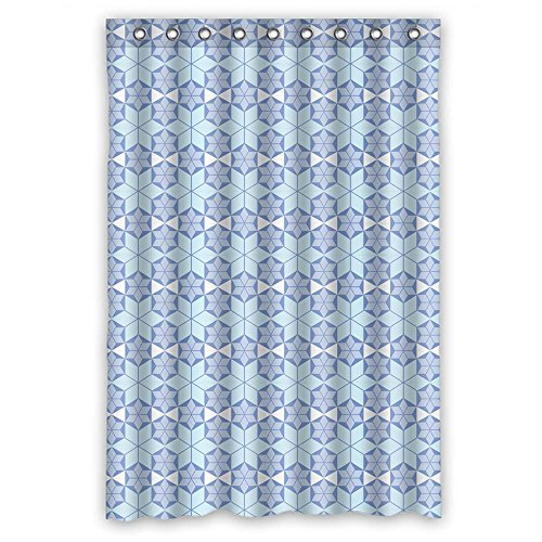 [Monadicase Polyester Geometry Bath Curtains Width X Height / 48 X 72 Inches / W H 120 By 180 Cm Best Choice For Kids Boys,mother,kids Boys,him. Wipe Clean -] (Japan National Costume For Kids)