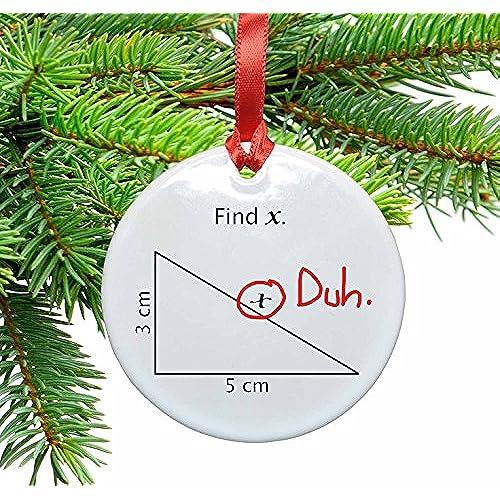 math christmas ornaments amazoncom - Amazon Christmas Ornaments