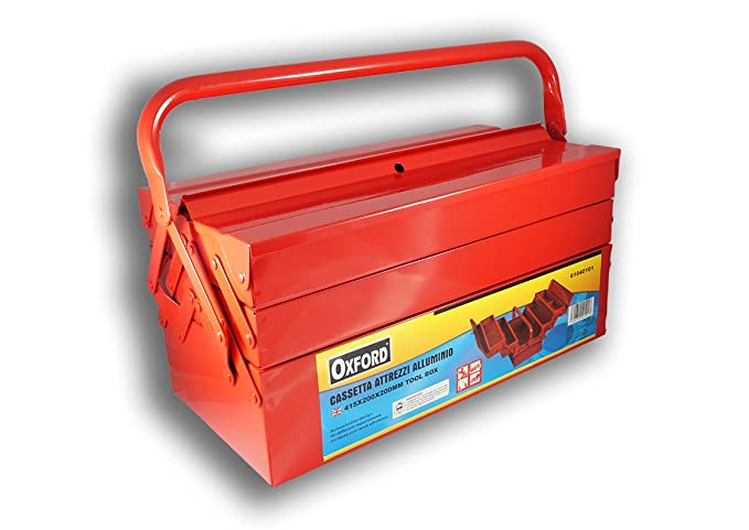 Caja para Herramientas con 5Compartimentos vací ...