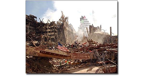 Overhead View Silver Halide Photo World Trade Center 9//11 Ground Zero