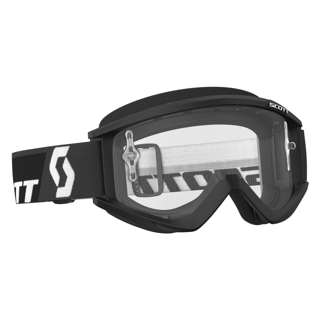 Scott Sports USA Unisex-Adult Recoil Xi Goggles (Black/Clear Works, One Size),246485-0001113