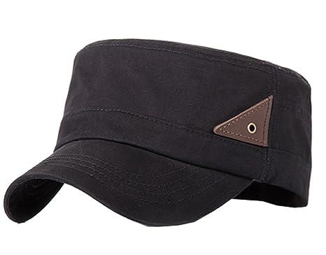 40b01976ee788 Ziweiba Classic Army Cap Military Style baseball Caps Hat for men (black):  Amazon.co.uk: Clothing