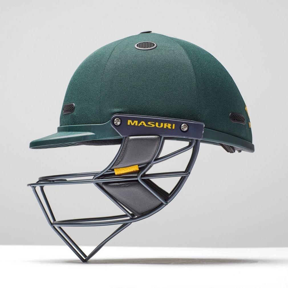 Elite Steel Cricket Batting Helmet VS Navy Masuri Vision Series