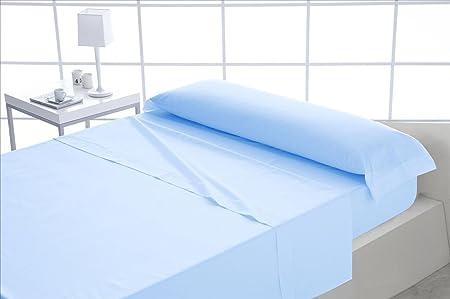 Mila Rosa ForenTex - Juego de sábanas, (XL-Azul), 100% algodón, Azul, Cama de 180 cm, Pieles sensibles, lo Natural y ecológico es Siempre un acierto: Amazon.es: Hogar