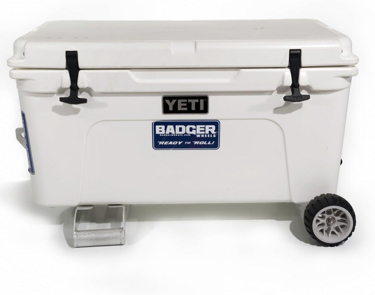 Badger LED Light for Coolers Ice Chests Lids Badger Wheels .