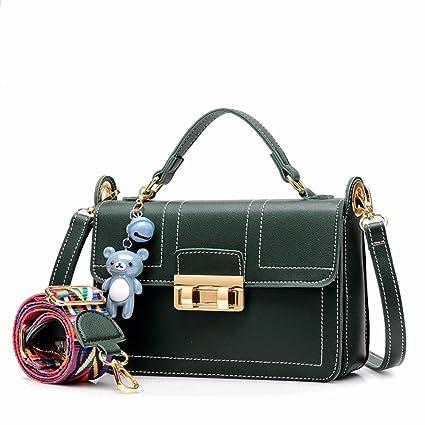 7c3c9e0c36 Image Unavailable. Image not available for. Color  BMKWSG Women Handbags  Fashion Handbags for Women Simple PU Leather Shoulder Bags ...