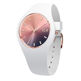 Midnight Blanche Avec Bracelet Montre Ice En Sunset Femme 015749medium Watch Silicone Pour F1culT5KJ3