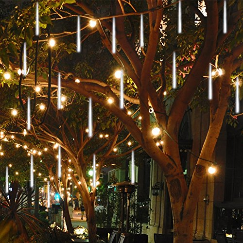 360 White Led Icicle Lights in Florida - 7