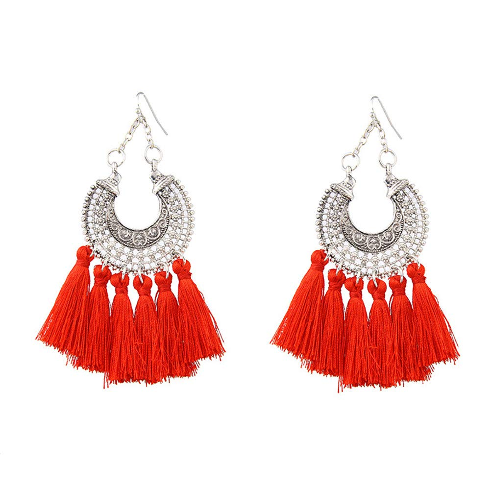 Toaimy Earings Fashion Personality Creative New Leaves With Diamond Alloy Earrings