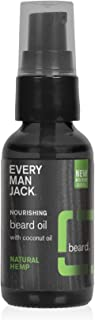 product image for Every Man Jack Beard Oil - Natural Hemp | 1-ounce - 1 Bottle | Naturally Derived, Parabens-free, Pthalate-free, Dye-free, and Certified Cruelty Free