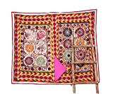 Embroidery Applique Traditional Banjara Neck Yoke Embrodried Sewing craft