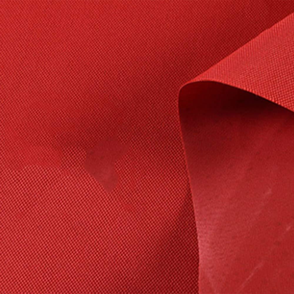Tarpaulin NAN Heavy Duty Plane, gewebtes Polyethylen mit hoher Dichte und doppelt laminiert - 400 g   m2, rot - 100% wasserdicht und UV-geschützt (größe   4  5m)