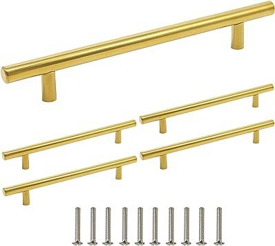 128 mm Barras de acero inoxidable para tirador de armario de cocina o ba/ño