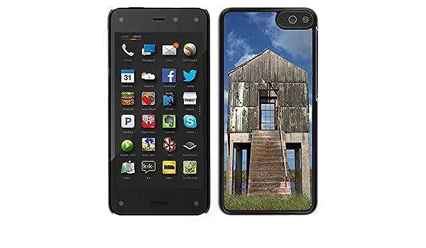 Print Motif Coque de protection Case Cover // F00026595 caseta de bombeo Negleckted en un lago // Amazon Fire Phone: Amazon.es: Electrónica