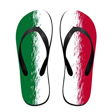 58ab22834f65e1 Flag Of Italy Cozy Flip Flops For Children Adults Men And Women Beach  Sandals Pool Party