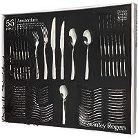 Stanley Rogers Amsterdam 56 Piece Stainless Steel Cutlery Set