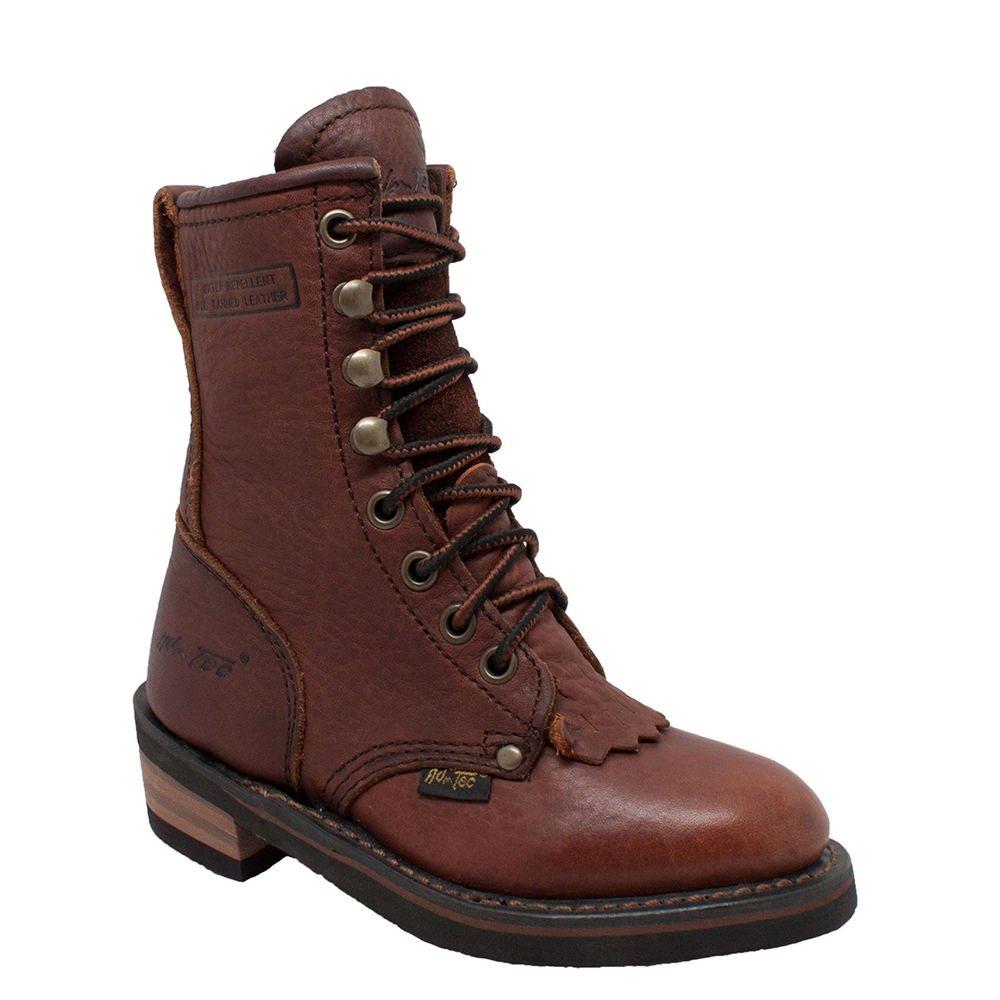 13 M US Little Kid Brown TECS Unisex 4173 Mid Calf Boot