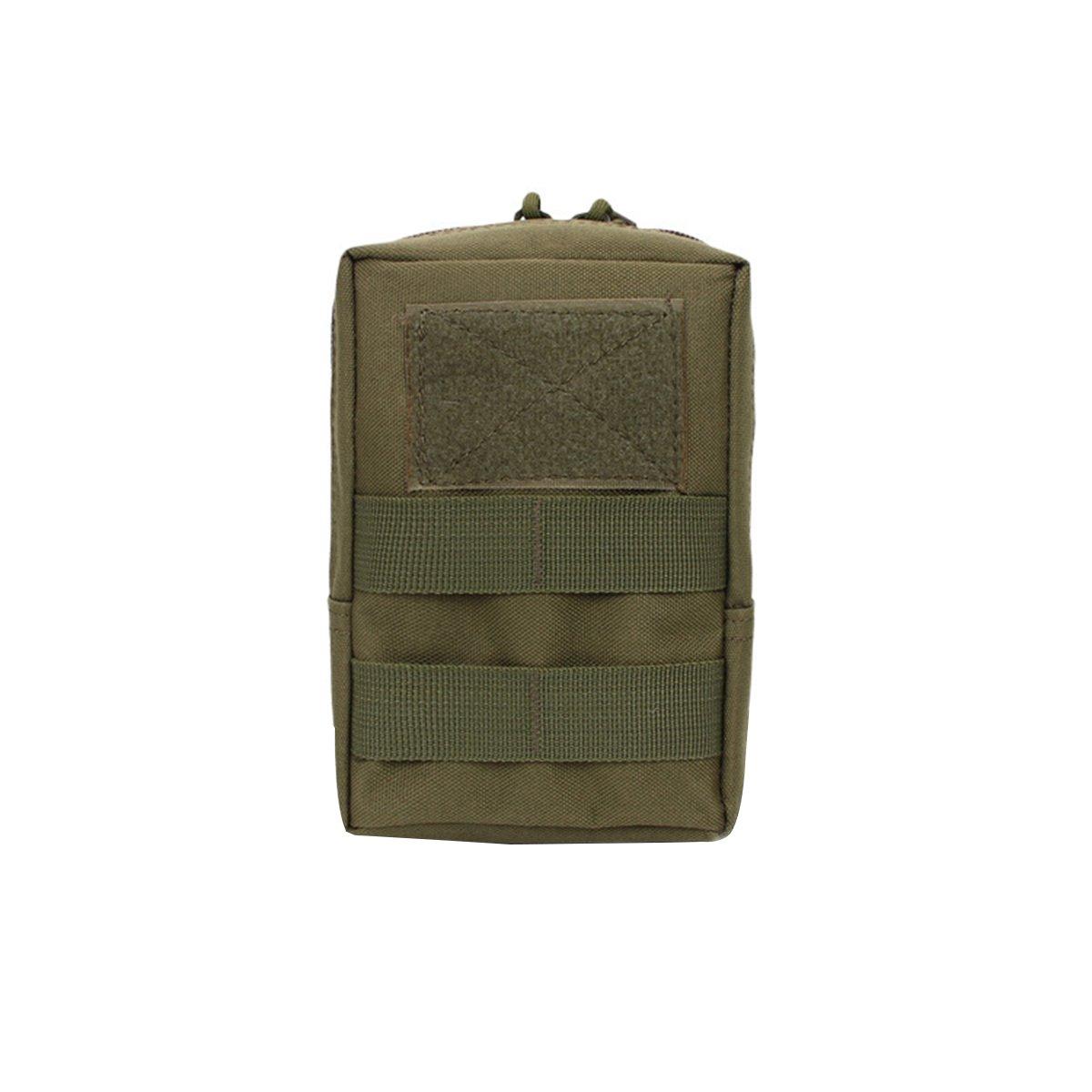 verde ej/ército WINOMO Bolsa de Cintura Militar Impermeable Bolsa Compacta Molle Ri/ñonera para Herramientas
