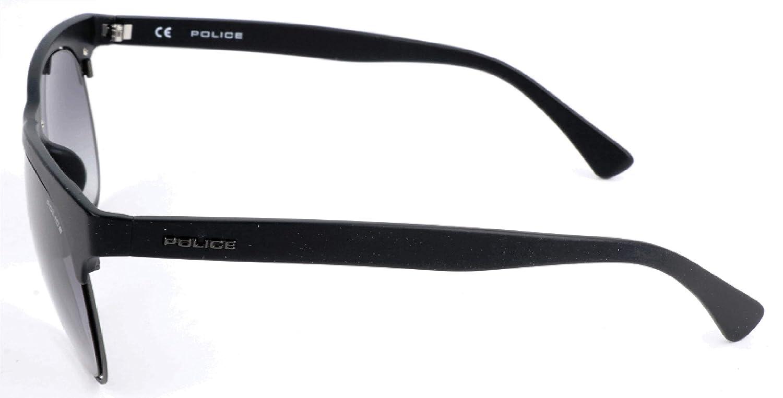 Schwarz Noir Police Sonnenbrille SPL160 Montures de lunettes 51.0 Homme