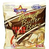 Atkinson's (1) Bag Sugar Free Peanut Butter Bars Sweetened with Splenda - Gluten & Cholesterol Free, Vegan Friendly 2.25…