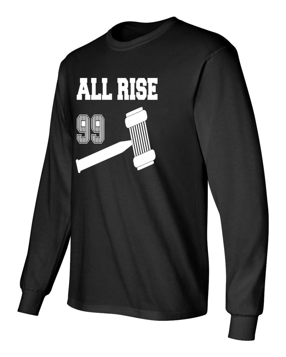 huge discount eea8d ecd75 Amazon.com : KINGS SPORTS Aaron Judge - All Rise T-Shirt ...