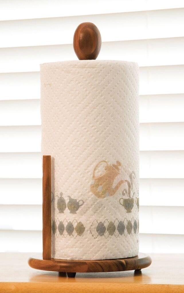 Lipper International 1138 Acacia Wood Standing Paper Towel Holder, 7-1/8'' x 14-1/4'' by Lipper International (Image #2)