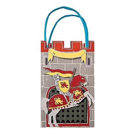 Amazon Com Meri Meri Party Bags Brave Knights Kitchen
