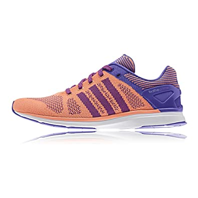 the best attitude c0a2e b3c49 adidas Adizero Feather Prime Womens Running SneakersShoes-Orange-5