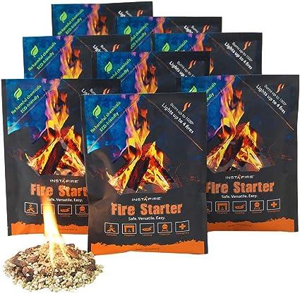 Instafire, Fire Starter, pack de 12 unidades: Amazon.es: Hogar
