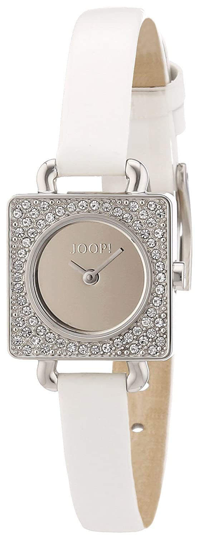 Joop Damen-Armbanduhr Neoclassic Square Analog Quarz Leder JP100962F03