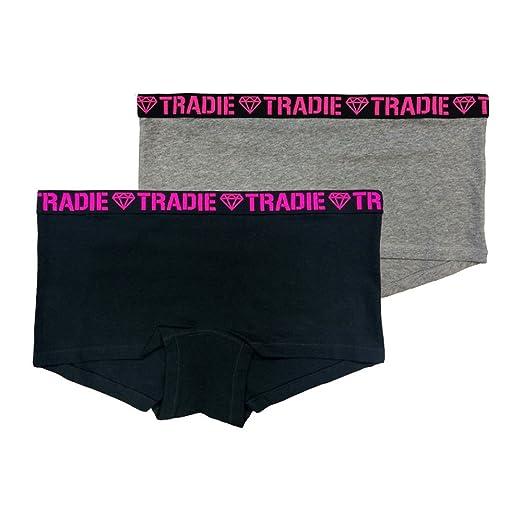 41dce69b17e Tradie Lady Women's 2 Pack Core Shortie | Amazon.com