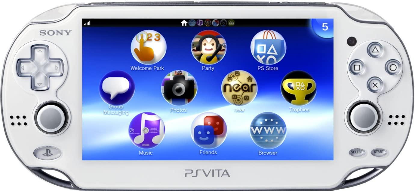 PlayStation Vita Wi-Fi Model – Crystal White