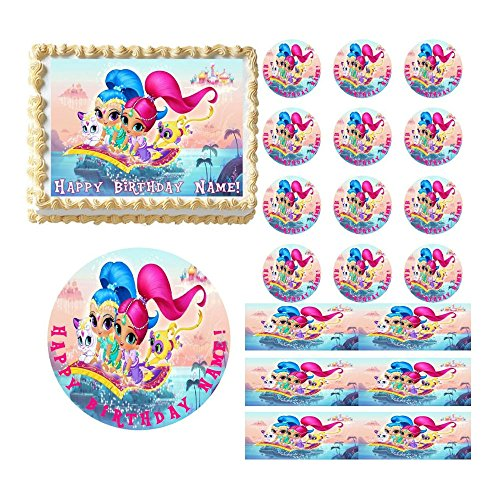 shimmer-and-shine-party-edible-cake-topper-image-frosting-sheet-cake-decoration-new-cupcakes-2-12-pe