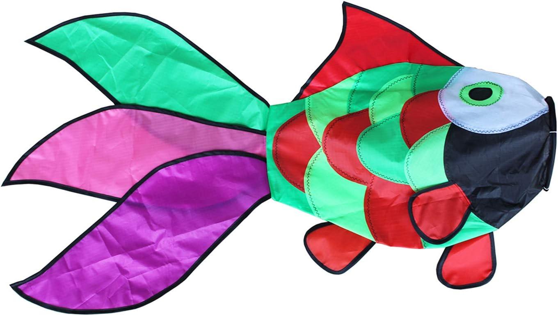 Comcrosfly Rainbow Fish windsock, Wind Socks Outdoor Hanging for Outdoor Patio Garden Decorative Wind Spinners 31 in Hanging Fish