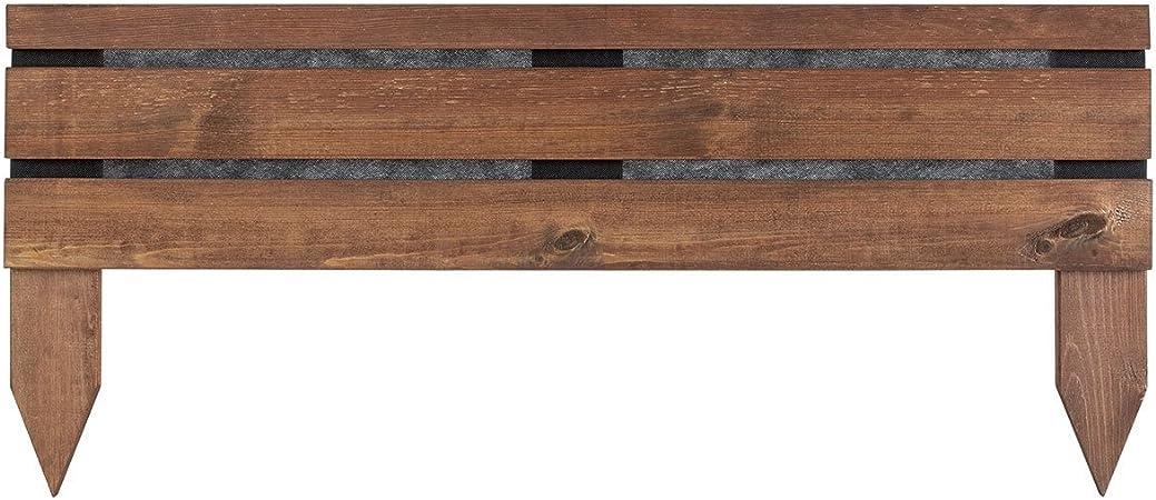 Bordure de jardin en bois à planter Lign Z