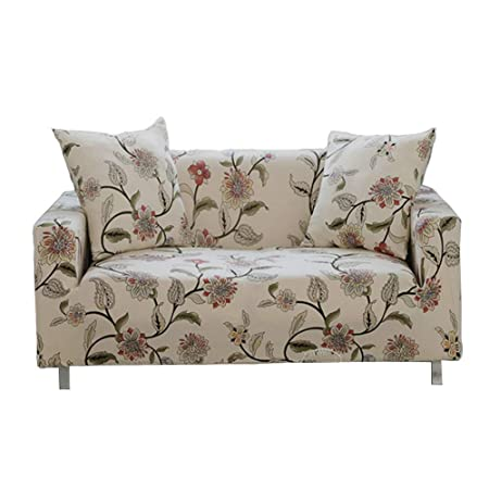 Remarkable Sofa Slipcover Stretch Fabric Flower Bird Pattern Elastic Chair Loveseat Couch Settee Sofa Covers 1 Piece Pet Dog Protector 1 Seater Flower Vine Spiritservingveterans Wood Chair Design Ideas Spiritservingveteransorg
