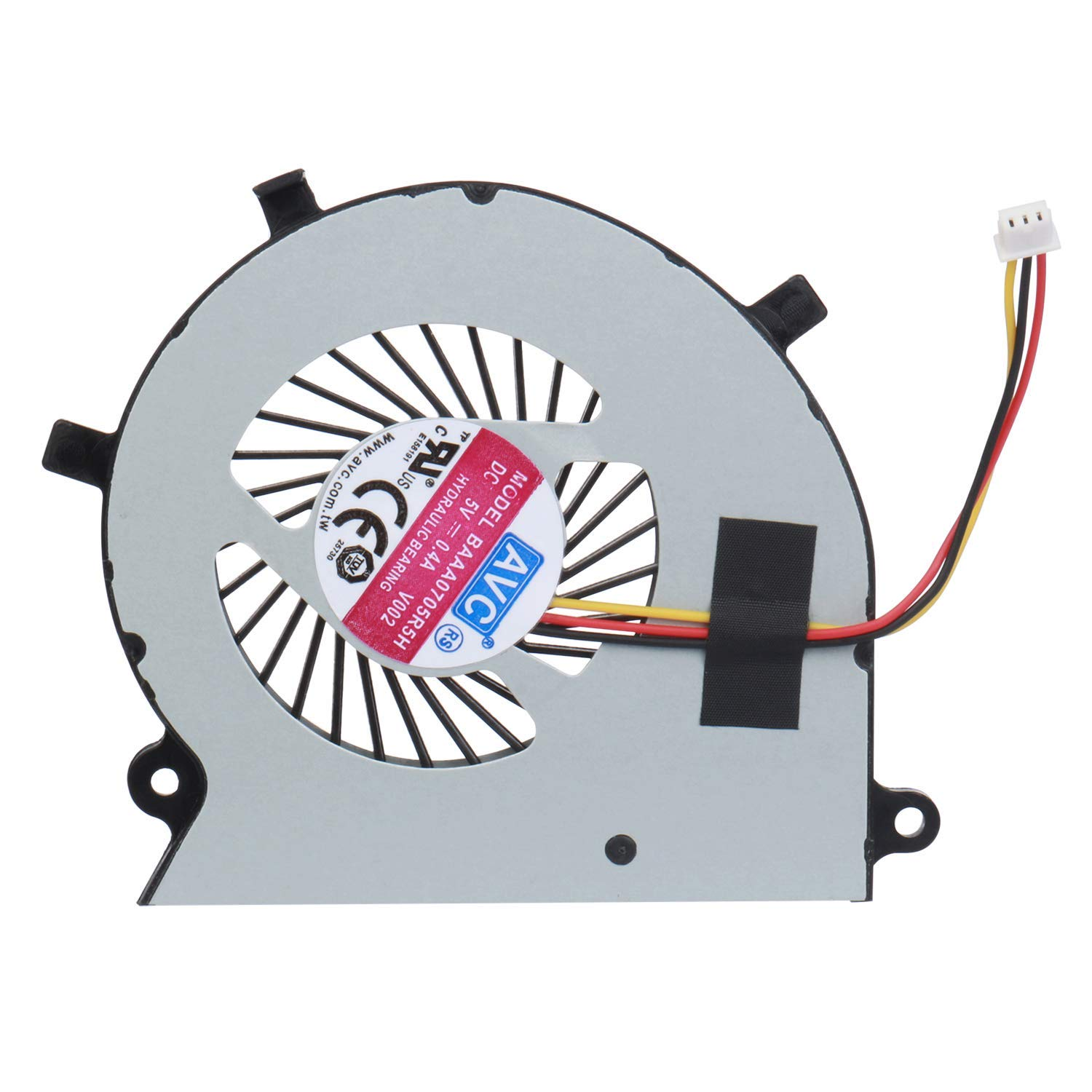 Miss parts CPU Cooling Fan Replacement for Toshiba Satellite Radius P55W-B P55W-B5112 P55W-B5162SM P55W-B5181SM P55W-B5201SL P55W-B5220 P55W-B5224 P55W-B5260SM P55W-B5318 P55W-B5380SM Series