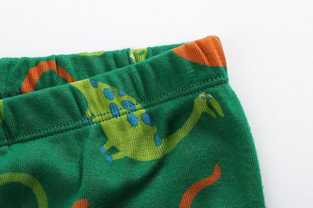 Babygp Dinosour Little boy Shorts 2 Piece Pajama 100/% Cotton Sleepwear pjs 2-10 Years