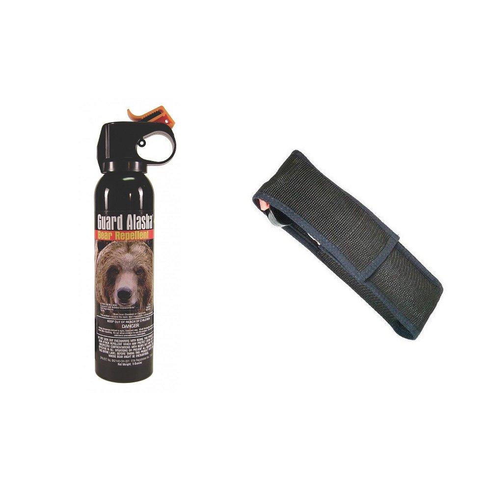 Guard Alaska™ Bear Defense Spray With BNH9 Holster! Be Ready!
