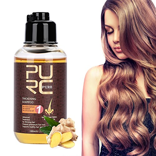 Hair Growth Shampoo, 100ml Professional Hair Care Thickening Shampoo Strenghten Hair Loss Accelerator, Stimulates Hair Re-growth, For Men & Women by Yotown (Image #9)