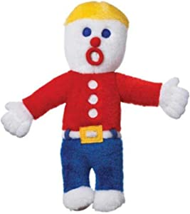Multipet Mr. Bill Plush Toy, Model 16715, Red, 3 inches x 2 inches x 9 inches