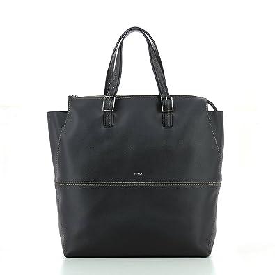 25a6fc6845e7 Amazon.com  Furla Women s Dori Medium Tote Onyx Handbag  Shoes