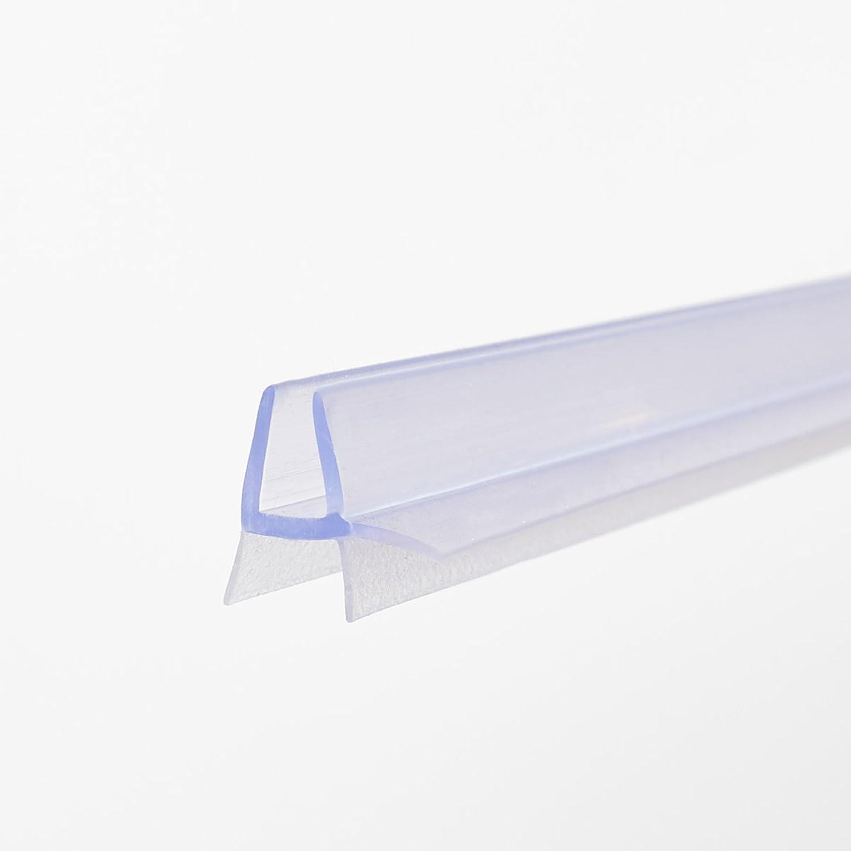 Guarnizione 100cm con cuciture di tenuta per 4–5mm spessore di vetro, Guarnizione doccia, Box Doccia # 1269 Sealis