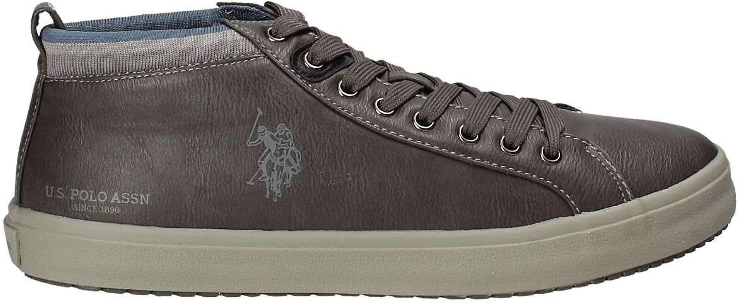 U.s. Polo assn. WOUCK7179W7/Y1 Zapatos Hombre Gris 41: Amazon.es ...